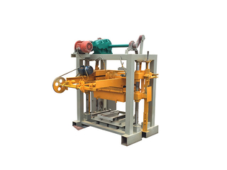 QT40-2 multi functional manual concrete block making machine,vibration molding brick machine