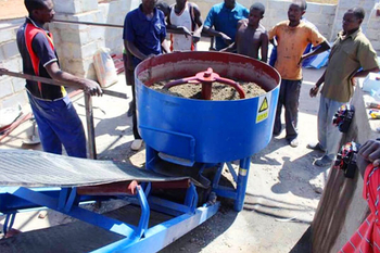 QT4-24 Block machine feedback from Zambia customer